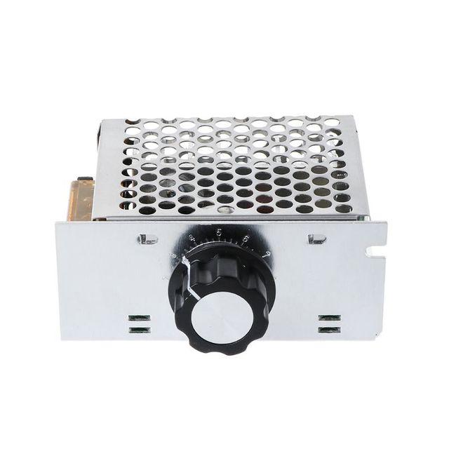 Фото ac 220v 4000w scr регулятор напряжения диммер высокой мощности цена