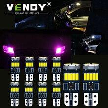 цена на 10pcs 168 LED Lights Bulb W5W 2825 T10 Canbus Car Lamp For Honda civic crv fit accord jazz accord 8 smax Insight Odyssey Pilot