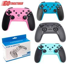 Switch Pro Wireless Bluetooth Game Gamepad Universal Game Handle For pc360 Function Game Controller Joystick with 6-Axis Handle betop btp 2585 asura lo ne bluetooth game handle