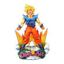 24cm Dragon Ball Z Super Saiyan Son Goku Anime Action Figure PVC New Collection figures toys Collection for Christmas gift