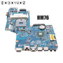 NOKOTION H000052590 Para Toshiba Satellite C850 L850 Laptop Motherboard 15.6 HM76 HD4000 DDR3 Suporte i3 i5 i7