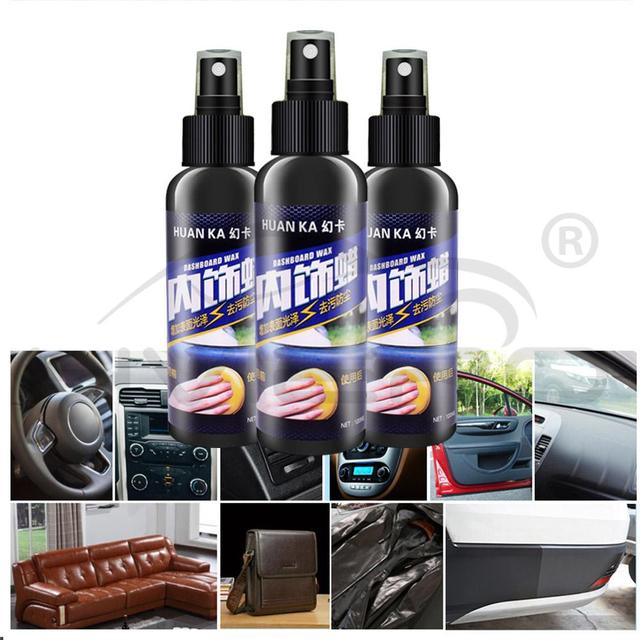 120ml Paint Care Car Interior Cleaning Tool Hard Wax Wet Waxing Tire Wheel Dedicated Refurbishing Agent Cleaner Auto Accessoires