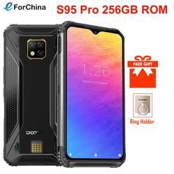 Перейти на Алиэкспресс и купить doogee s95 pro 256gb rom 8gb ram ip68/ip69k rugged phone android 9.0 pie helio p90 octa-core 6.3дюйм. fhd+ display 48mp cams wireles