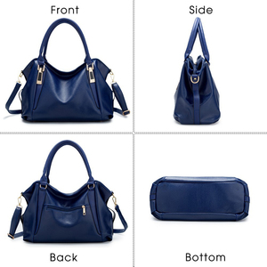Image 4 - TTOU Designer Women Handbag Female PU Leather Bags Handbags Ladies Portable Shoulder Bag Office Ladies Hobos Bag Totes