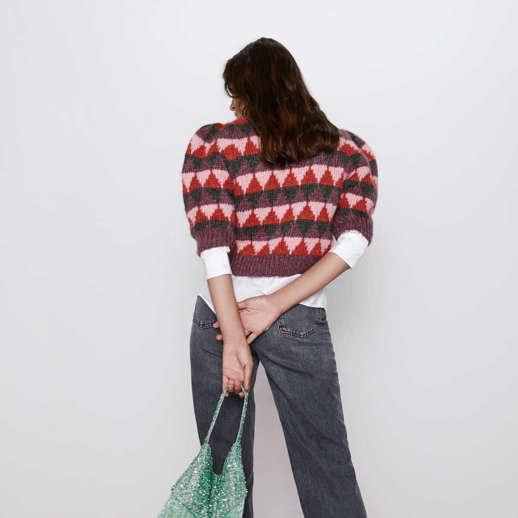 2019 za 패션 캐주얼 다이아몬드 체크 스웨터 woemn 가을 의류 유행 영국 pullovers 여성 가을 의류 도매
