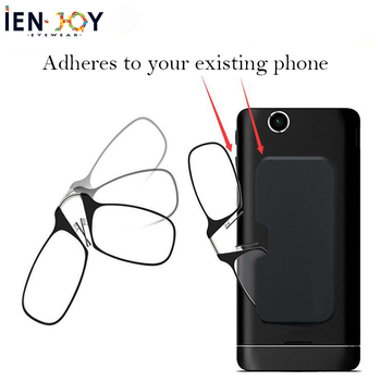 IENJOY Men Reading Glasses Presbyopic Glasses Blue Light Blocking Glasses Nose Reading Glasses Mini Case Reading Glasses 1.5 reading