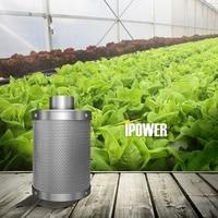 Carbon Filter Hydrokultur Aktivkohle Filter Holzkohle Indoor Pflanzen Air Auspuff Filter Baumwolle Luftreiniger Teile-in Luft-Reinigungsapparat Teile aus Haushaltsgeräte bei