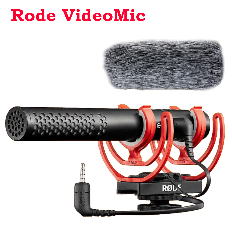 Rode Video Mic VideoMic NTG intervista registrazione microfono 3.5mm per Canon Nikon Sony DSLR smartphone iPhone IOS Android