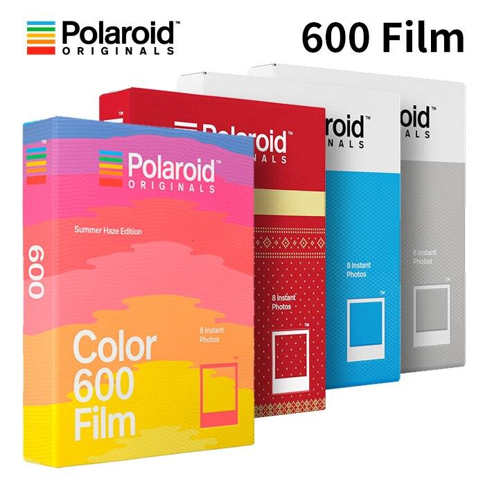 Polaroid originals instant 600 cor do filme preto-branco para onestep2 instax camera slr680 636 637 640 650 660 autofoco impossível