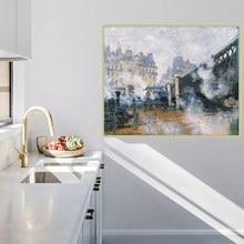 Citon Claude Monet sur toile