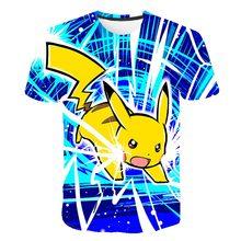 Children's Clothes Cartoon Anime Elves t shirt Kids 3D Printed Shirt Boys Girls Streetwear Kids Kawaii Clothing Cute Funny Tops