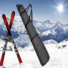 Snowboard Tas Tot 216 Cm Verstelbare Lengte   Waterdicht, Ergonomische Handgrepen Ski Tas-Voor Mannen, vrouwen En Jeugd-Zwart