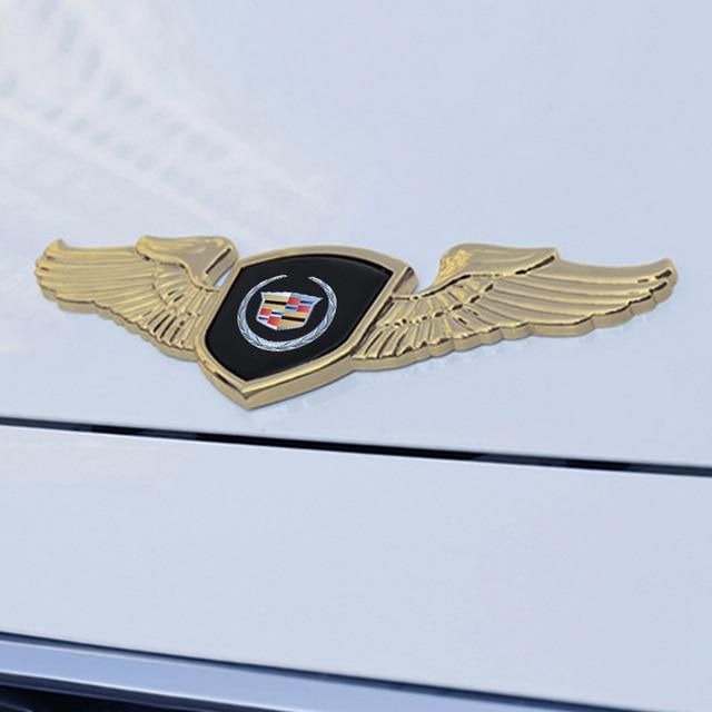 Auto Engine Bonnet Trim Emblem For Cadillac Seville XT4 CT4 SLR STS EXT CTS Escalade CT5 Coupe Car Front Badge Decal Accessories 4