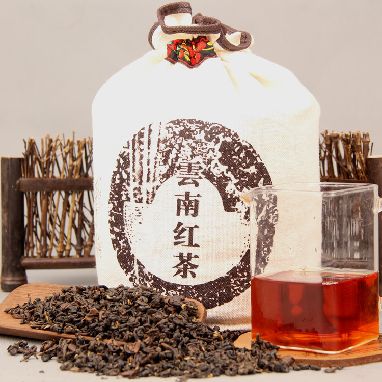 1000g/bag China Yunnan Fengqing Dian Hong Premium DianHong Black Tea Beauty Slimming Green Food for Health Lose Weight 1