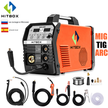 HITBOX MIG Welder Synergy-Control TIG MIG200 ARC 220V DC Steel Iron Gas No Functional