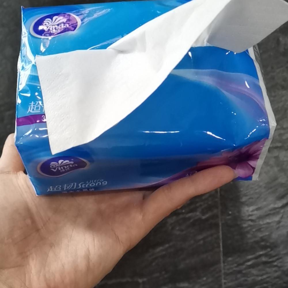 Papier domestique MILIN de papier de soie journal et papier de soie pour bébé type dextraction papier de soie visage