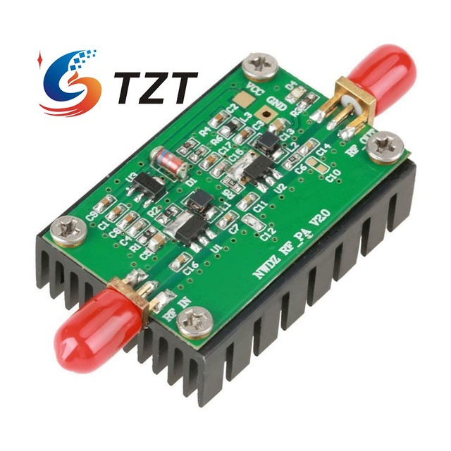 TZT RF מגבר לוח 2MHz 700MHZ בפס רחב RF כוח מגבר 3W HF VHF UHF FM משדר RF כוח מגבר עבור רדיו