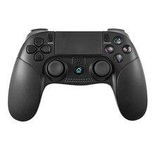 Kablosuz oyun denetleyicisi titreşim Joystick Sony Playstation 3 için 4 PS3 PS4 şarj edilebilir 6-Axis sensörü dokunmatik Gamepad yeni