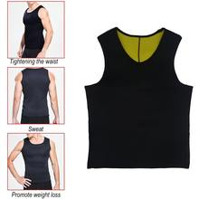 Sweat Sauna Body Shaper Men Slimming Vest Thermo Neoprene Trainer Sliming Waist Belt Durable And Comfortable Weight Loss