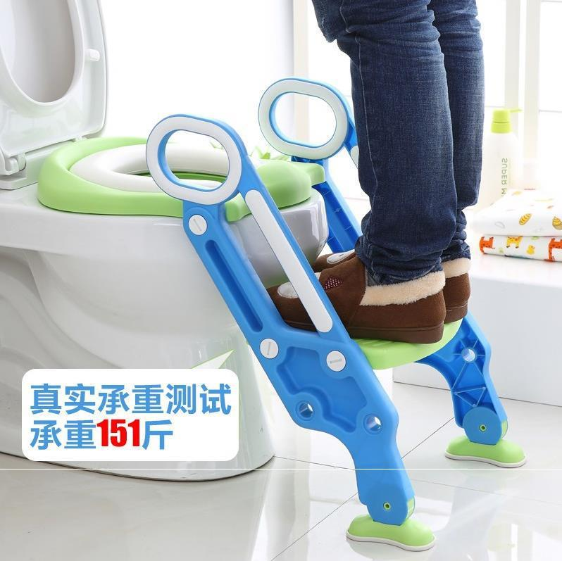 High Grade Thick On Potty Ladder Baby Toilet Toilet Seat Young CHILDREN'S Commode Chairs For Male Baby Universal