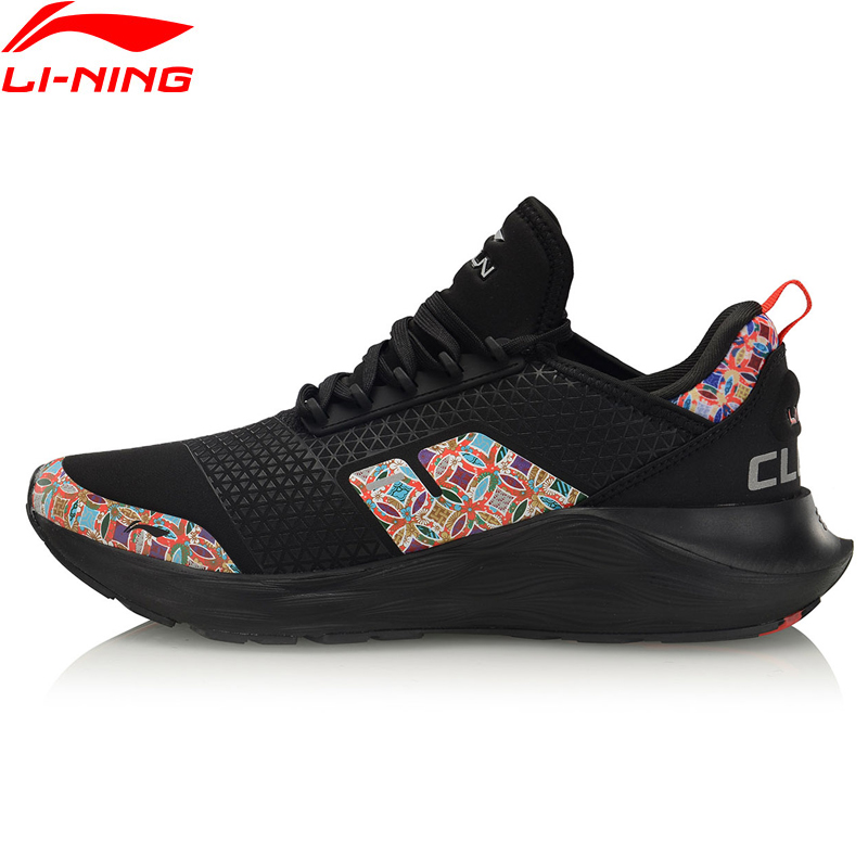 Li-Ning Men LINING CLOUD 6 Cushion Running Shoes Stable Support LiNing Li Ning Wearable Sport Shoes Sneakers ARHQ053 XYP965