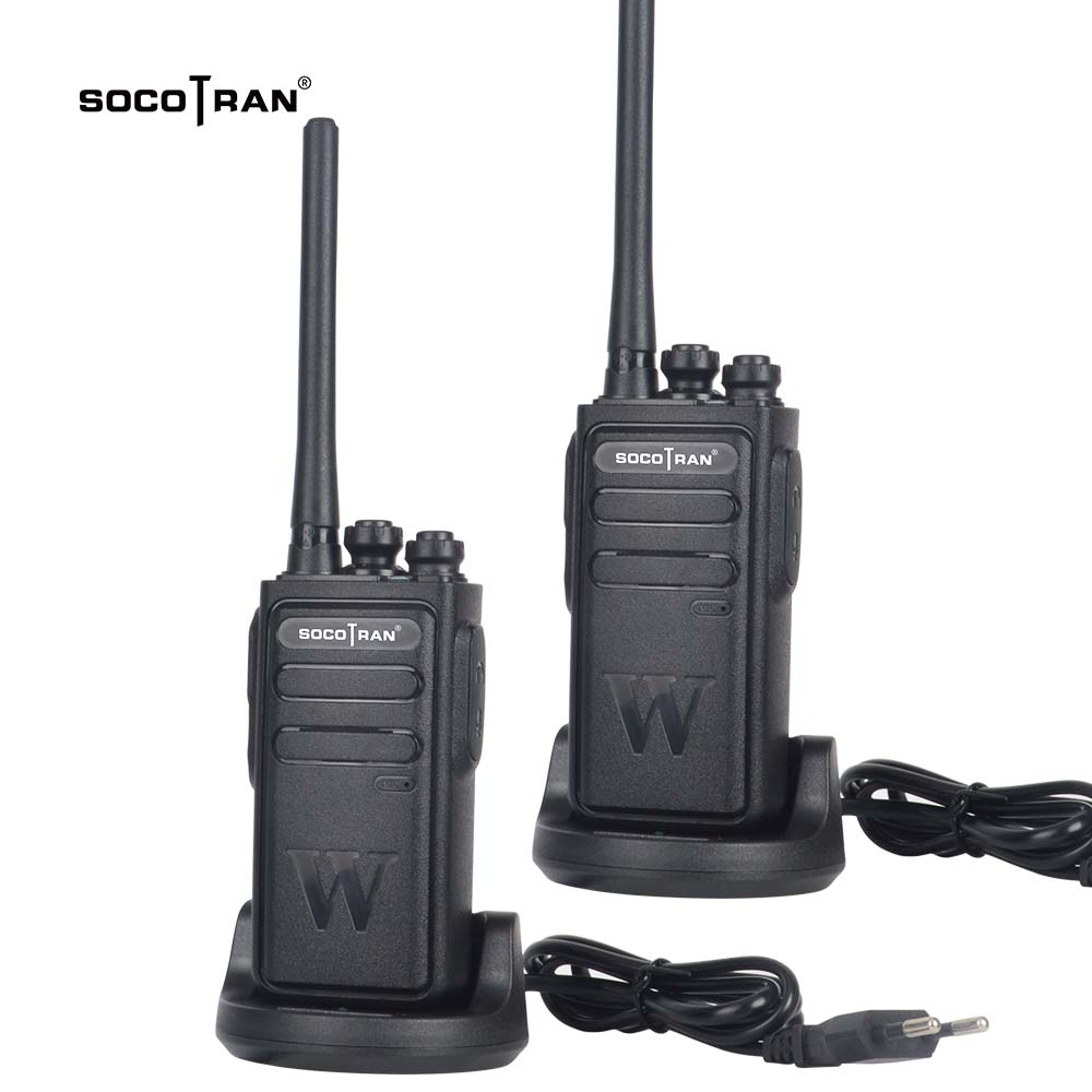 Socotran Handheld Walkie Talkie Portable Radio 5W High Power UHF Professional Two Way Ham Radio Communicator