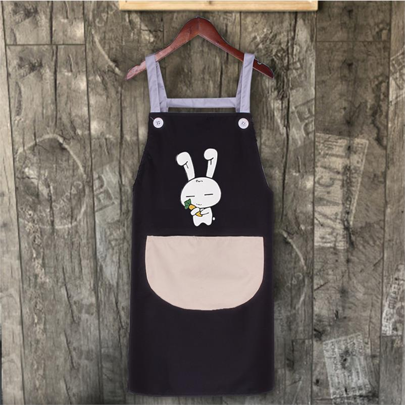 . Manicure Clothing Clothing Apron Online Celebrity Beauty Eyelashes Shop Work Clothes Fashion Cute Japanese-style Apron Waterpr