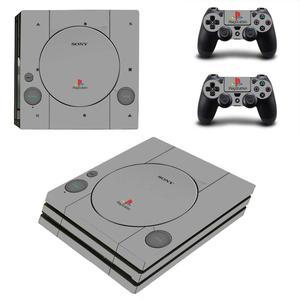 Image 3 - Pure White PS4 Pro naklejki Play station 4 skórka naklejka naklejka na konsolę PlayStation 4 PS4 Pro i skórka na kontroler winylu
