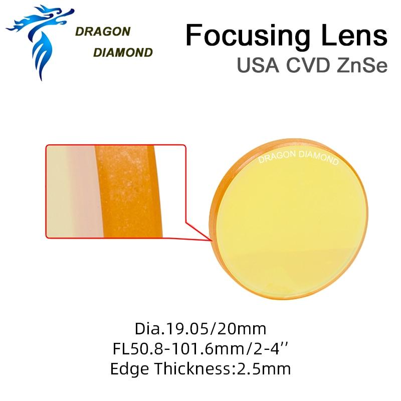 USA CVD ZnSe fókuszlencse diamm 12mm 15mm 18mm 19.05mm 20mm FL - Mérőműszerek - Fénykép 4
