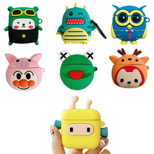 High Quality Wireless Bluetooth Earphone Case For Apple Airpods Silicone Headphones Cases Airpods2 Protective Cover