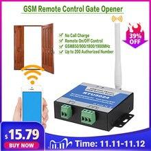RTU5024 GSM 게이트 오프너 릴레이 스위치 원격 제어 도어 액세스 무선 도어 오프너 무료 통화 850/900/1800/1900MHz