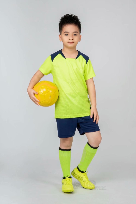 Kids football Uniforms boys girl soccer Jerseys Custom child Soccer Jersey Set Sportswear t-shirt sports suit new style 23