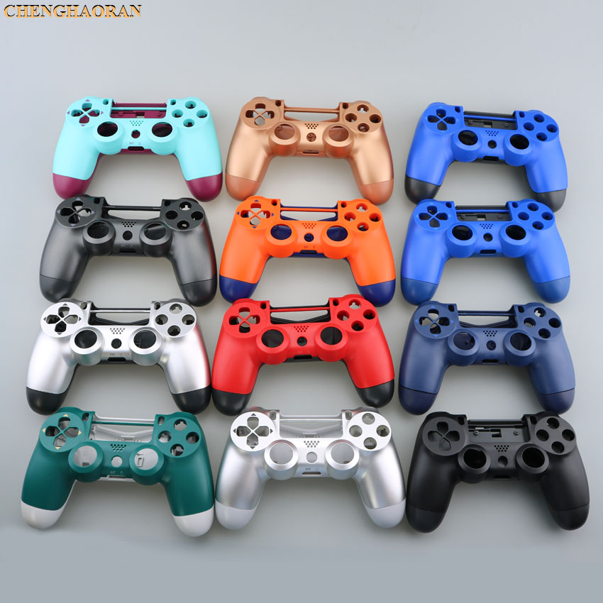 Replacement Housing Shell <font><b>Case</b></font> for Sony <font><b>PS4</b></font> Pro 4.0 JDS-040 Wireless <font><b>Controller</b></font> Mod Kit Cover for Dualshock 4 Pro image