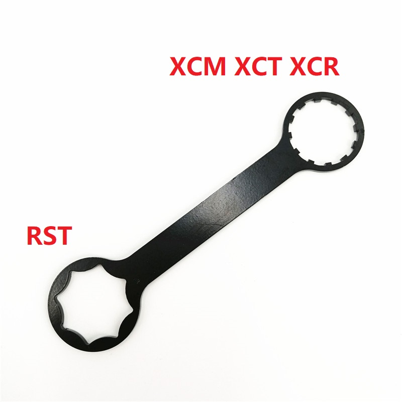 XCR XCM XCT RST Damper Preload Remove Install Wrench Bicycle <font><b>Fork</b></font> Damping Adjustment Knob Dual-use Wrench <font><b>Fork</b></font> Repair Tool image