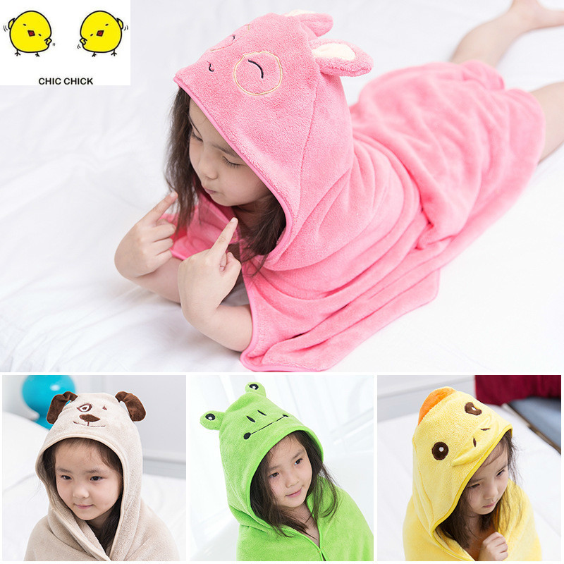 Cute Animal Shape Baby Hooded Towel Baby  Baby Boy Giel Swaddle Blanket For Baby Newborn Products