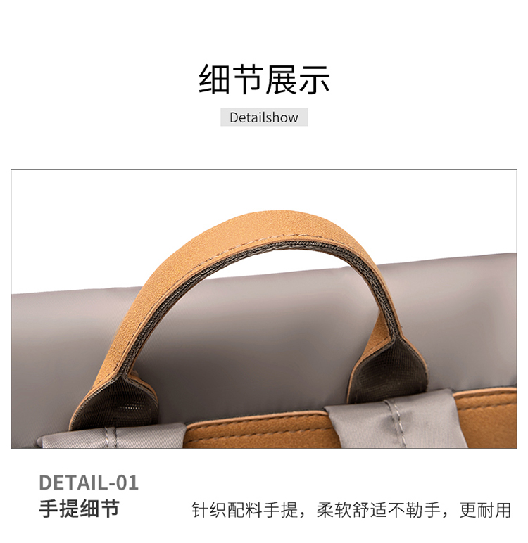 impermeável anti-risco bolsa feminina volta anti-roubo zíper saco