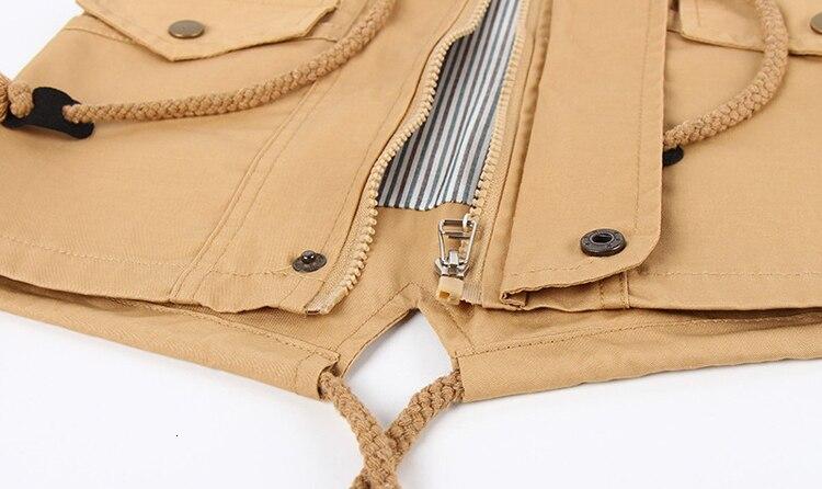 Benemaker Children Winter Outdoor Fleece Jackets For Boys Clothing Hooded Warm Outerwear Windbreaker Baby Kids Thin Coats YJ023 36