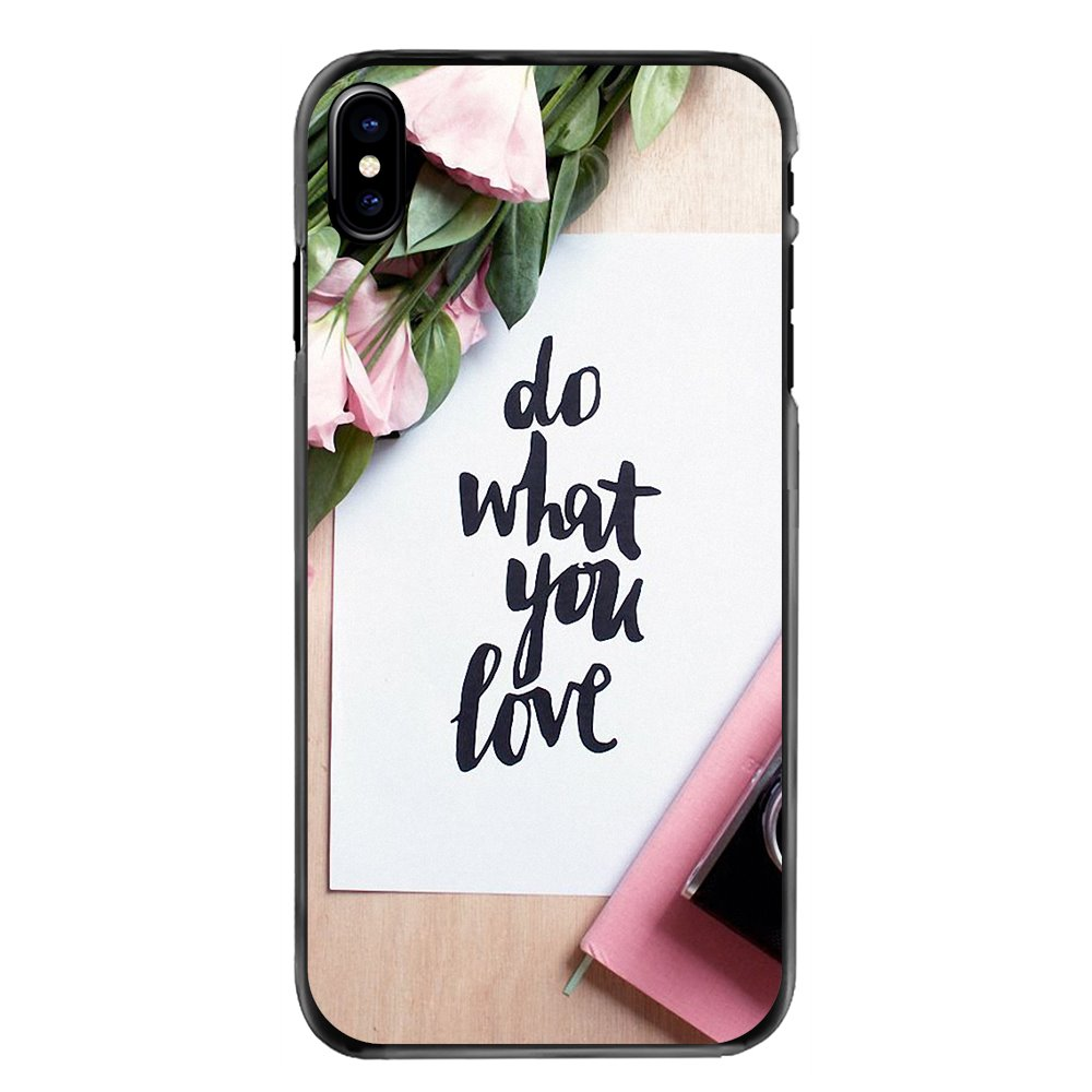 Protective Phone Cover Case do what you love Art Poster For Sony Xperia X XA XZ M2 M4 M5 C3 C4 C5 T3 E4 E5 Z Z1 Z2 Z3 Z5 Compact image