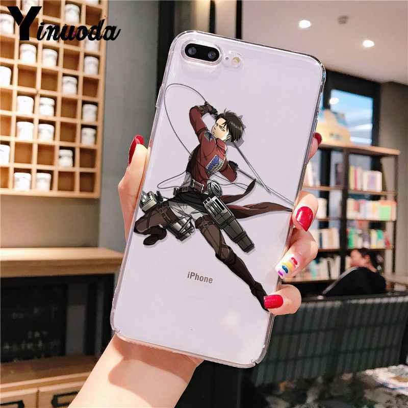 Anime japon Titan yumuşak telefon kılıfı için iPhone 11 6 6s 7 8 artı 11 Pro XS max XR SE 2020 funda kapak mobil durumlarda