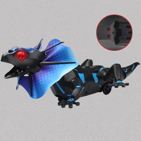 rc robo lagarto raio infravermelho controle remoto
