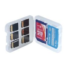 1 шт., жесткий Micro SD SDHC TF MS коробка для хранения карт памяти, защитный держатель, Жесткий Чехол Коробка для хранения карт памяти