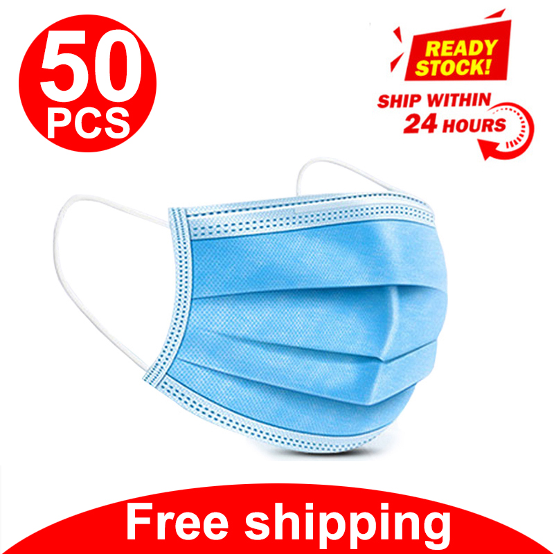 Anti-Pollution Mouth Mask Disposable Face Dust Protective Masks Filter Safety Kn95 Ffp3 None Medical Surgical Mask N95 Ffp2