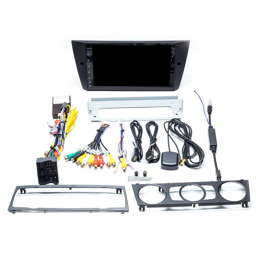 Josmile 1 ディンアンドロイド 9.0 カーラジオ Dvd プレーヤー、 Bmw E90/E91/E92/E93 3 シリーズマルチメディア GPS ナビゲーションステレオオーディオヘッドユニット