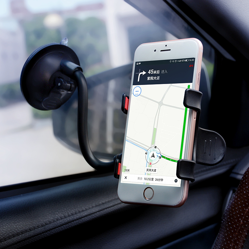 Universal 360 Degree Rotating Windshield Car Phone Sucker Mount Bracket For IPhone Huawei GPS Car Phone Holder Stand