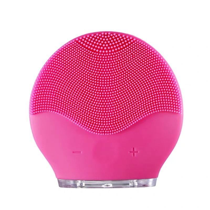 Facial Cleansing Brush Silicone Shrinking Pores Oil-control Electric Cleansing Instrument Electric Face Cleansing Brush