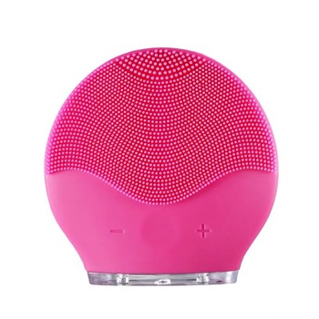 Facial Cleansing Brush Silicone Shrinking Pores Oil-control Electric Cleansing Instrument Electric Face Cleansing Brush facial cleansing oil