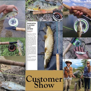Image 5 - Maximumcatch V access 3/4/5/6/7/8/9/10/12wt Fly Fishing Rod 8ft 10ft Carbon fiber Fast Action Fly Rod With Cordura Tube