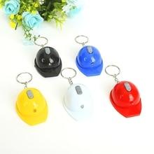 Frete grátis por fedex 100 pçs/lote novo led capacete abridor de garrafa chaveiros chapéu de segurança chaveiros com lanterna chaveiro presentes