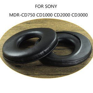 Image 2 - Sheepskin Earpad FOR SONY MDR CD750 CD1000 CD2000 CD3000 Headphones Replacement Ear Pads Pillow Ear Cushions Cover Cups