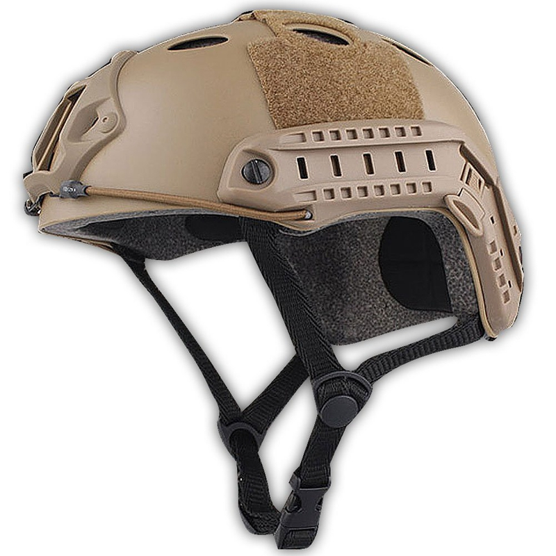NEW Army Style SWAT Combat PJ Type Fast Helmet For CQB Shooting Airsoft Paintball